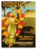 Mid Pacific Carnival, 6th Floral Parade c.1911 Posters