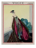 Vogue Cover - May 1921 Premium Giclee Print by George Wolfe Plank