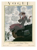 Vogue Cover - June 1923 Giclee Print by Pierre Brissaud