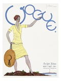 Vogue Cover - May 1927 Regular Giclee Print by Georges Lepape