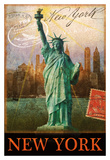 New York Poster von Chris Vest