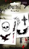 Gothic Temporary Tattoos Temporäre Tattoos