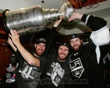 Jeff Carter, Mike Richards, & Dustin Penner after Winning 2012 Stanley Cup Fotografía