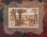Maroc Stamp Posters af Ann Walker