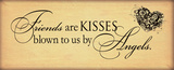 Friends are Kisses Posters by Stephanie Marrott