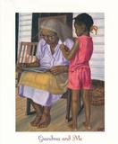 Grandma & Me Affiche par Gregory Myrick