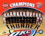 Oklahoma City Thunder 2011-12 NBA Western Conference Champions Team Photo Photo