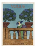 Vogue Cover - June 1912 Premium Giclee Print by Wilson Karcher
