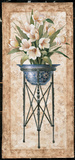 White Tulips In An Iron Urn Prints by Tan Chun