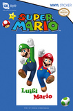 Nintendo - Mario & Luigi Vinyl Sticker Stickers