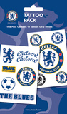 Chelsea Tattoo Packs Temporary Tattoos