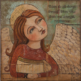 Angel Strength Plakat autor Teresa Kogut