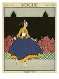 Vogue Cover - July 1915 Giclee Print by Margaret B. Bull