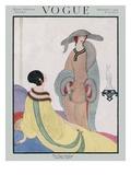 Vogue Cover - November 1919 Regular Giclee Print by Helen Dryden