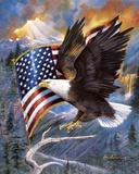 America'S Pride Print by Ruane Manning