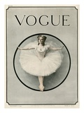 Vogue Cover - December 1909 Regular Giclee Print