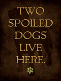 Spoiled Dog Posters par Stephanie Marrott