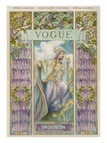 Vogue Cover - April 1905 Regular Giclee Print