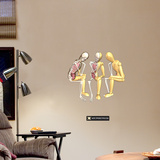 Thinkers Wall Decal by Jason Freeny