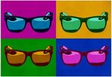 Sunglasses Pop Art Poster Posters