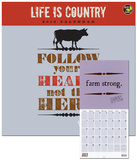 Life is Country - 2013 Calendar Calendars