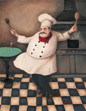 Chef III Art by T. C. Chiu