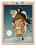 Vogue Cover - December 1920 Regular Giclee Print by George Wolfe Plank