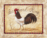 Barnyard King Posters by Peggy Sibley