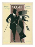 Vogue Cover - February 1912 Regular Giclee Print