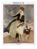 Vogue Cover - August 1922 Regular Giclee Print by Henry R. Sutter