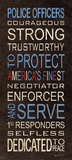 Police Posters by Kathy Middlebrook