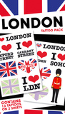 London Temporary Tattoos Temporäre Tattoos