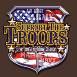 Support The Troops Prints by Jim Baldwin