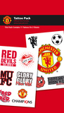 Manchester United Tattoo Packs Temporary Tattoos