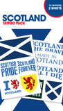 Scotland Tattoo Packs Temporary Tattoos