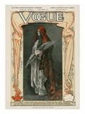 Vogue Cover - September 1907 Regular Giclee Print by  Meyner