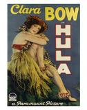 Clara Bow Hula, Paramount Picture c.1927 Giclée-tryk