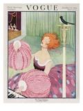 Vogue Cover - October 1919 Regular Giclee Print von George Wolfe Plank