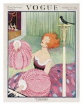Vogue Cover - October 1919 Giclee Print by George Wolfe Plank
