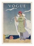 Vogue Cover - July 1912 Regular Giclee Print by Helen Dryden