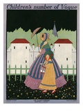 Vogue Cover - August 1915 Giclee Print by Sydney Joseph