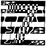 Number Seven 7 Maze Prints by Yonatan Frimer