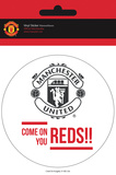 Manchester United - Come On Vinyl Sticker Stickers