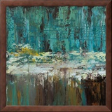 Deep Waters I Framed Canvas Print by Jack Roth