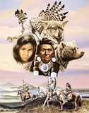 Flight Of The Tribe Poster by Gary Ampel