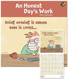 An Honest Day&#39;s Work - 2013 Calendar Calendars