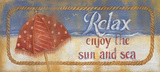 Enjoy The Sun And Sea Affiches par Kim Lewis