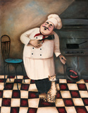 Chef II Prints by T. C. Chiu