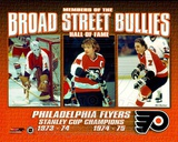 NHL Broad Street Bullies- Bernie Parent, Bobby Clarke, & Bill Barber Photo