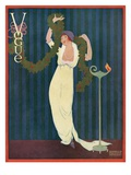 Vogue Cover - December 1912 Regular Giclee Print by Helen Dryden